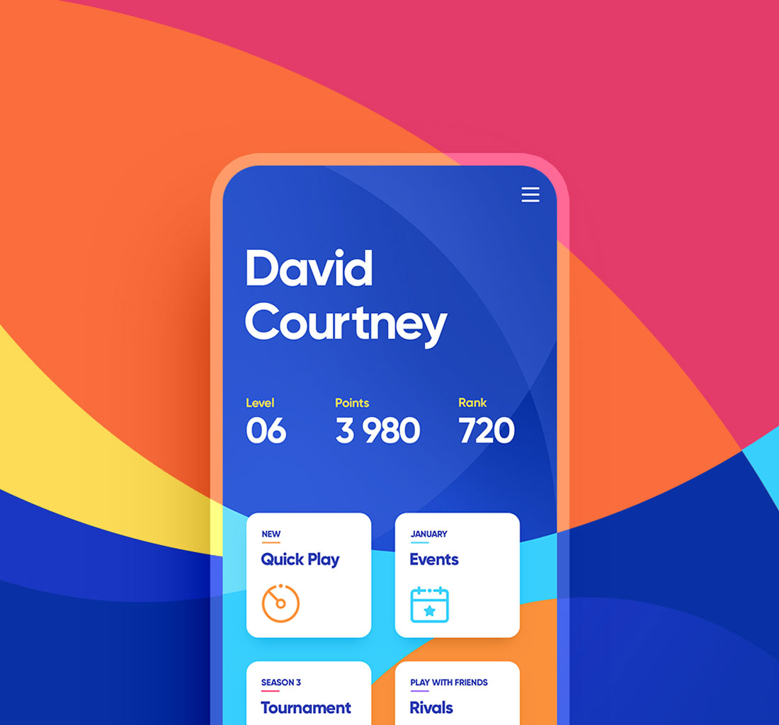 David Courtney IOS Application
