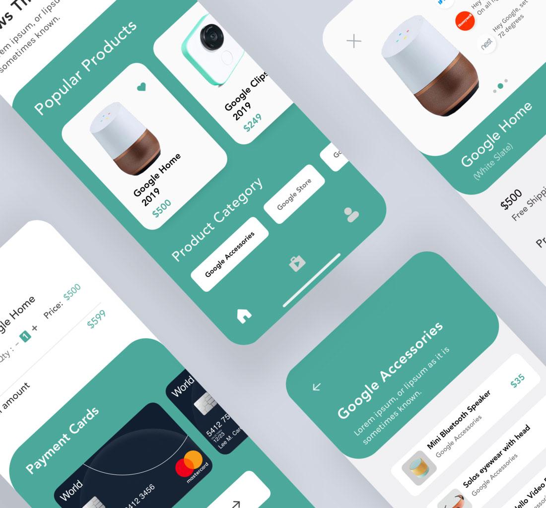 Daria e-Commerce IOS Application